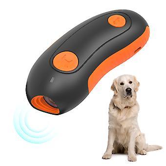 Handheld Ultrazvukový psí repeller Dog Trainer Ultrazvukový psí tréning ultrazvuková kôra zátka