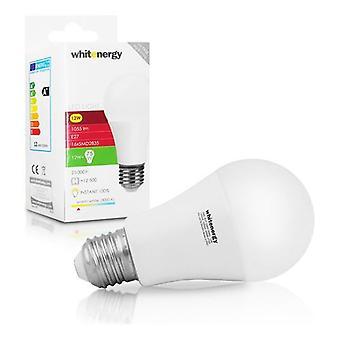 Whitenergy E27 LED A60 Schraube passen Glühbirne 12W 230V - weiße Warm