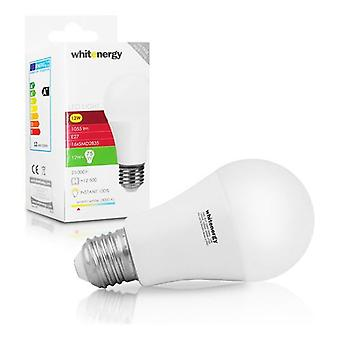 Whitenergy E27 LED A60 vis adapter ampoule 12W 230V - blanc chaud