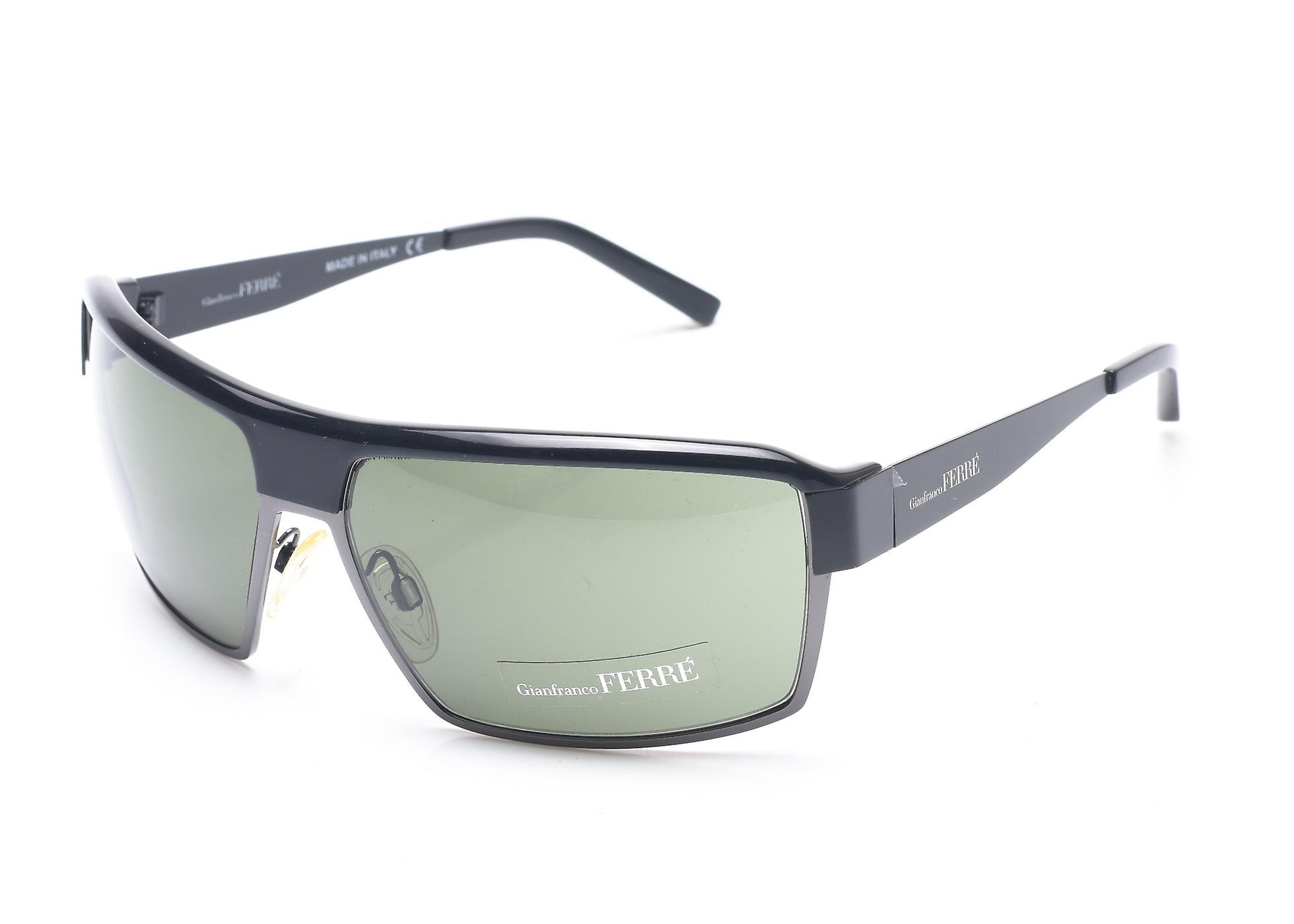 Gianfranco Ferre Women's Shield Sunglasses Gunmetal
