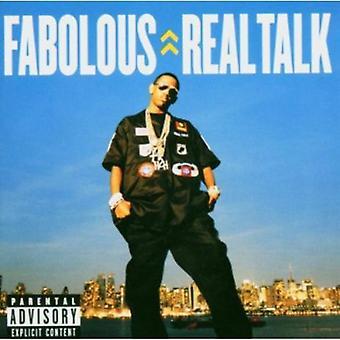 ファボラス - 実際のトーク [CD] アメリカ インポートします。
