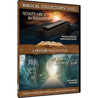 Noah's Ark & the Biblical Flood/Moses-Man of God [DVD] USA import