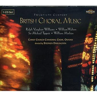 Christ Church Cathedral Choir - British Choral Music of the 20th Century [CD] USA import
