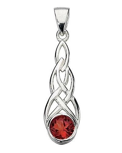 925 Silver Celtic Necklace