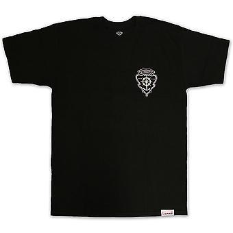 Co de suministro de diamantes yate Crest camiseta negro