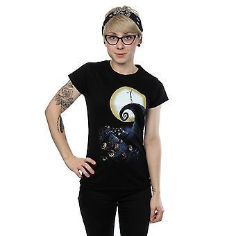 Disney Women's Nightmare Before Christmas cmentarz T-Shirt
