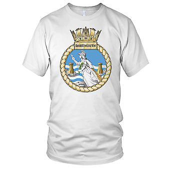 Royal Navy HMS Dartmouth Mens T-Shirt
