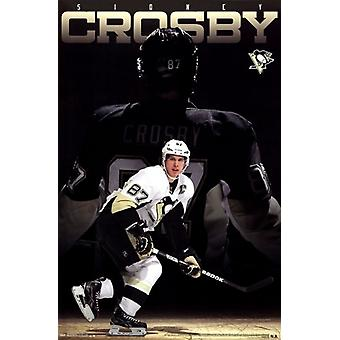 Penguins de Pittsburgh - Crosby S 13 affiche Poster Print