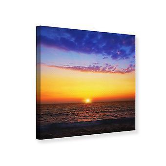 Canvas tulostaa elinvoimainen Sunset