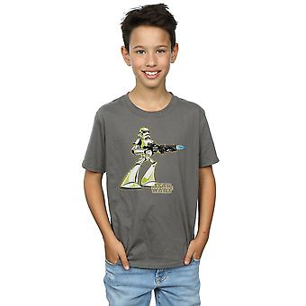 Star Wars Boys Stormtrooper Character T-Shirt