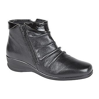 Mod Comfys Womens/Ladies Softie Leather Flexible Ankle Boots