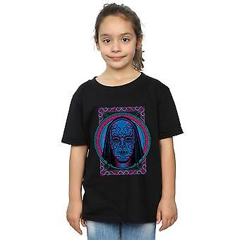 Harry Potter Girls Neon Death Eater Mask T-Shirt