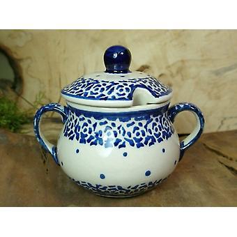 Azucarera, altura 10 cm, diámetro 12 cm, tradición 54 polacco ceramica - BSN 22017