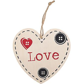 Something Different Love Hanging Heart Sign