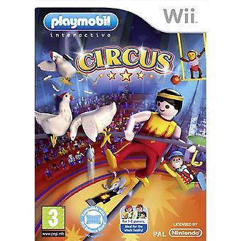 Playmobil Circus (Wii) - New