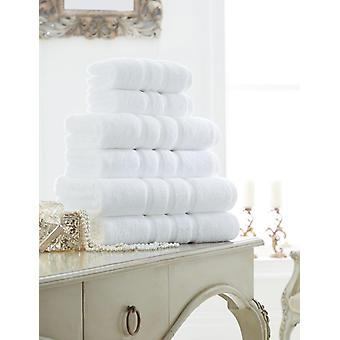 Zero Twist Stripes Hand Towel Pack of 4 Soft and Luxury in Colors