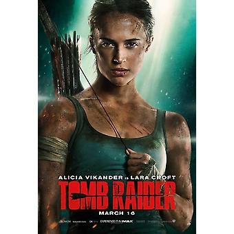 Tomb Raider Movie Poster (11 x 17)