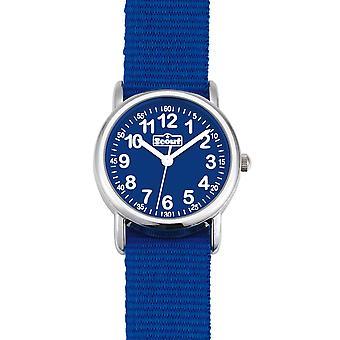 Escoteiro relógio de criança aprendendo iniciar acima - legal meninos azuis relógio 280304000