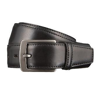 LLOYD Men's belt belts men's belts leather belt black 6588