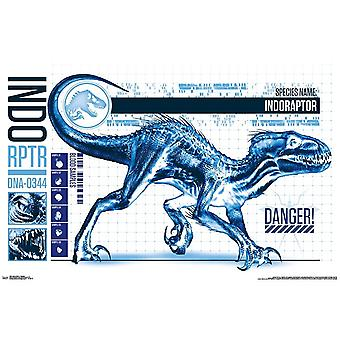 Jurassic World 2 - Indo-Raptor Poster Print