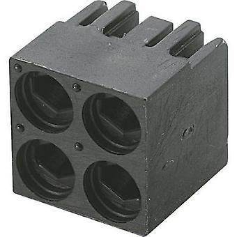 KSS PLD4-3A LED spacer 4x zwart geschikt voor LED 3 mm