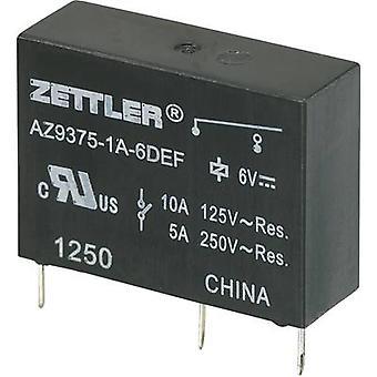 Zettler Electronics AZ9375-1A-9DEF PCB relay 9 V DC 10 A 1 maker 1 pc(s)