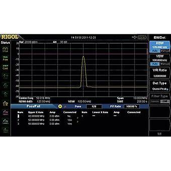 Rigol DSA800-EMI DSA800-EMI Software Upgrade Optie EMI Filter & quasi-piek Detector-Kit DSA800 EMI 1 pc(s)