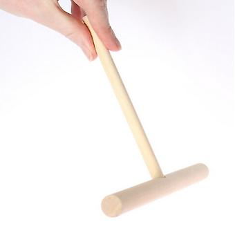 Authentic French Wood Crepe Pancake Batter Spreader Dough Distributor 19cm