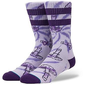 Stance Mushie Crew Socken in Violett