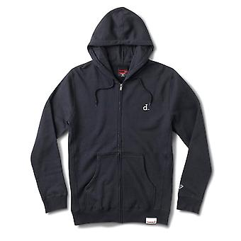 Diamond Supply Co Mini Un Polo Zip Hoodie Marine