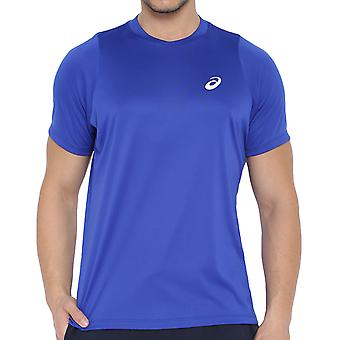 asics MotionDry Mens Club Tennis Short Sleeve Crew Neck T-Shirt Tee Top