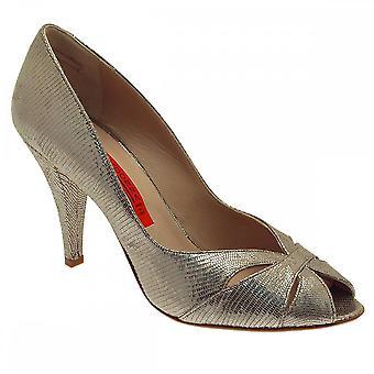 Renata vrouwen hoge hak Peep Toe Hof schoen