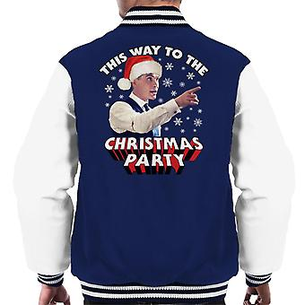 Cillian Murphy This Way To The Christmas Party Men's Varsity Jacket