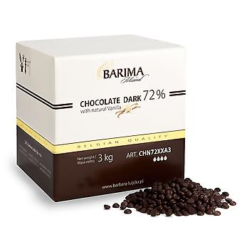 バーバラ Barima 余分なダーク チョコレート チップ 72%