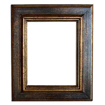 20x25 cm or 8x10 ins, photo frame in gold