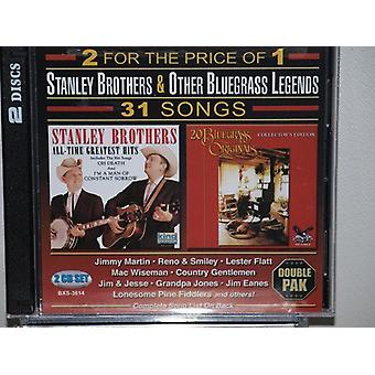 Stanley Brothers - Bluegrass Originals: All Time Greatest [CD] USA import