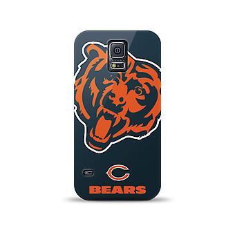 Mizco Sports NFL Oversized Snapback TPU Case for Samsung Galaxy S5 (Chicago Bears)