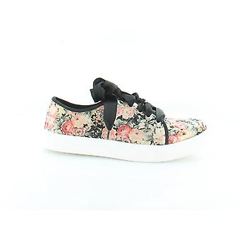 Dirty Laundry Womens Janeane Velvet Low Top Lace Up Fashion Sneakers