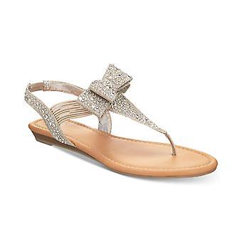 Material Girl Womens Vanessa aberto Toe Casual T-Strap sandálias
