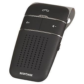 TechBrands Visor Mount újratölthető Bluetooth kihangosító rendszer