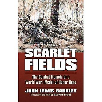 Scarlet fält: Bekämpa memoarer av en världskriget Medal of Honor hjälte (modernt kriger studier)