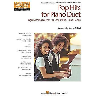 Pop Hits For Piano Duet: Popular Songs Series