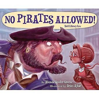Geen piraten toegestaan genoemde bibliotheek Lou