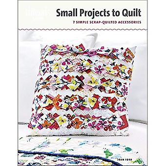 Small Projects to Quilt: 7 Simple Scrap-Quilted Accessories (Threads Selects)