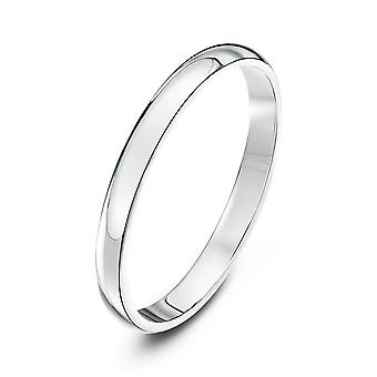 Star Wedding Rings Platinum Heavy D 2mm Wedding Ring