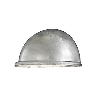 Konstsmide Torino Galvanised Eyelid IP44 Wall Light