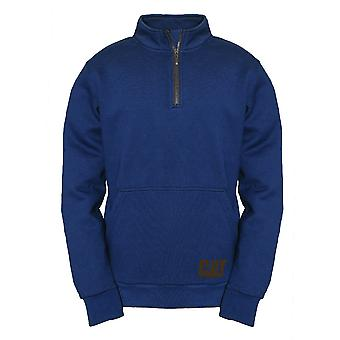 Caterpillar Mens AG Half Zip Pull Over Jumper Fleece Jacket