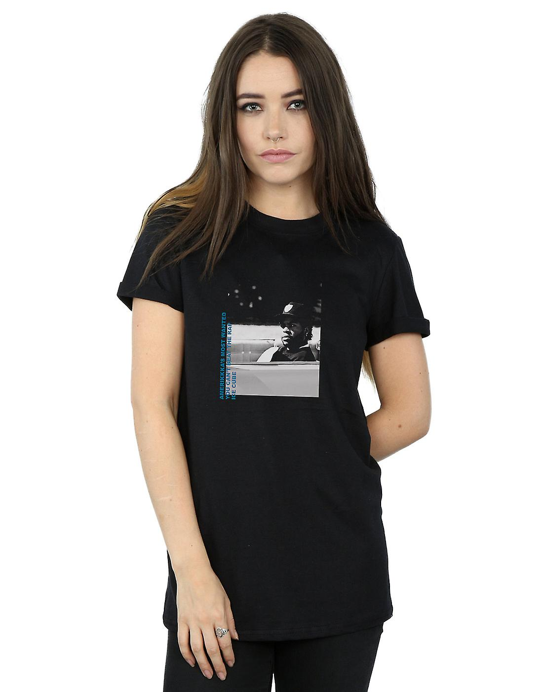 Ice Cube Women's Most Wanted Boyfriend Fit T-Shirt