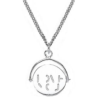 Bella I love You Spinner Pendant - Silver