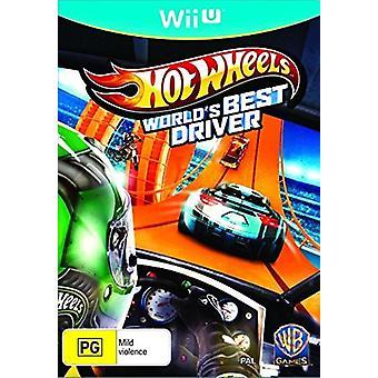 Hot Wheels Worlds Best Driver (Nintendo Wii U) - New